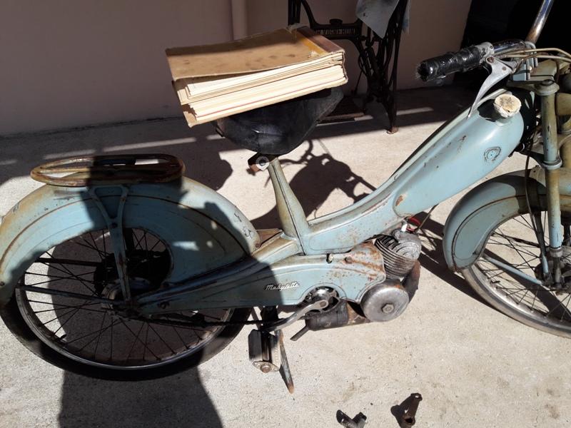 Retrocyclos Motobecane Av76 1959